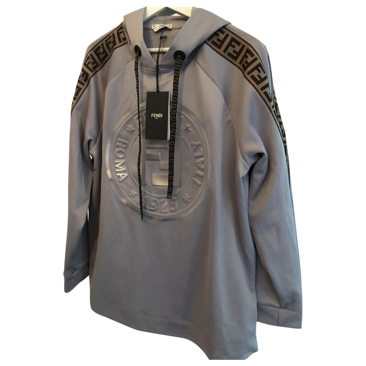 Fendi \N Pullover in  Grau Viskose