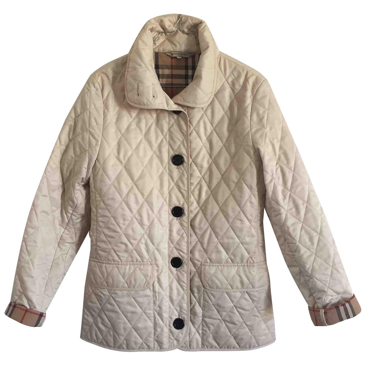 Burberry - Veste   pour femme - beige