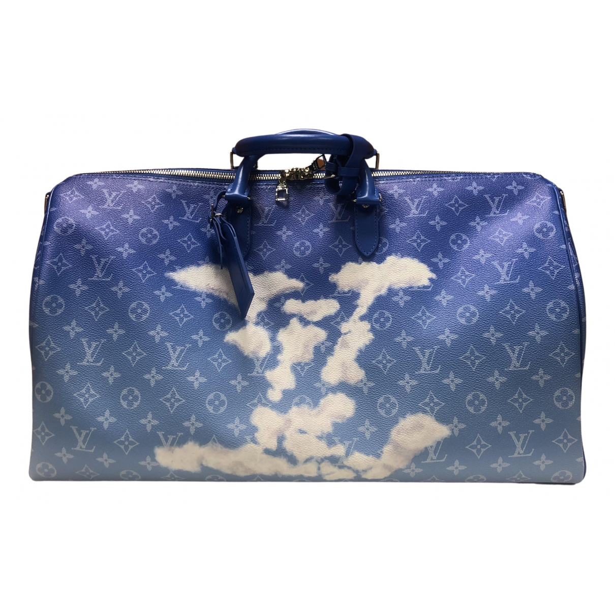Cartera Keepall de Lona Louis Vuitton