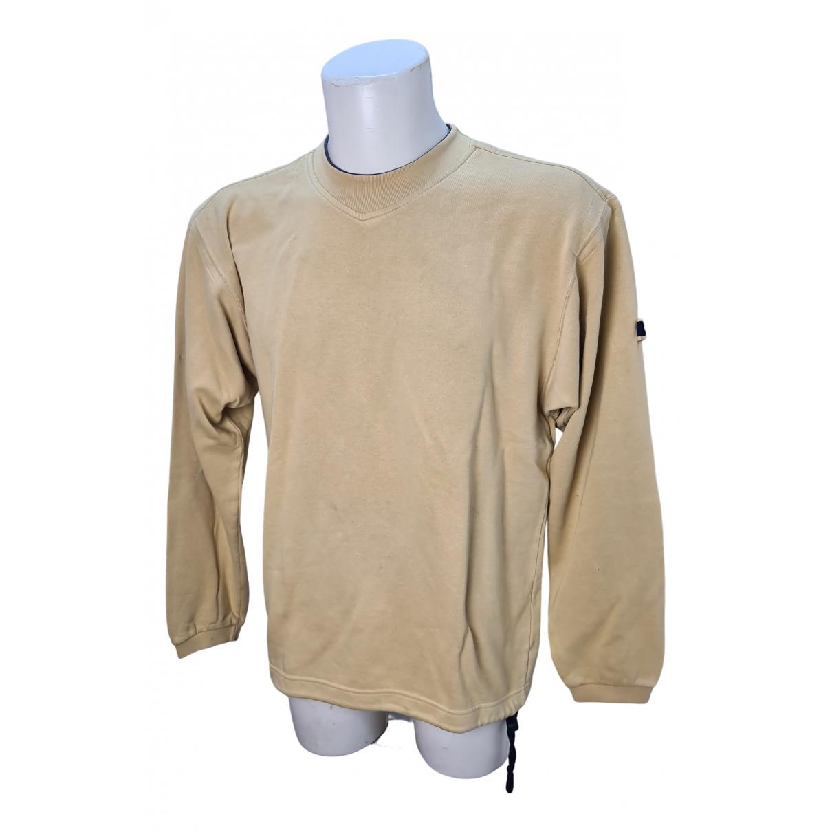 Champion \N Pullover.Westen.Sweatshirts  in  Beige Baumwolle