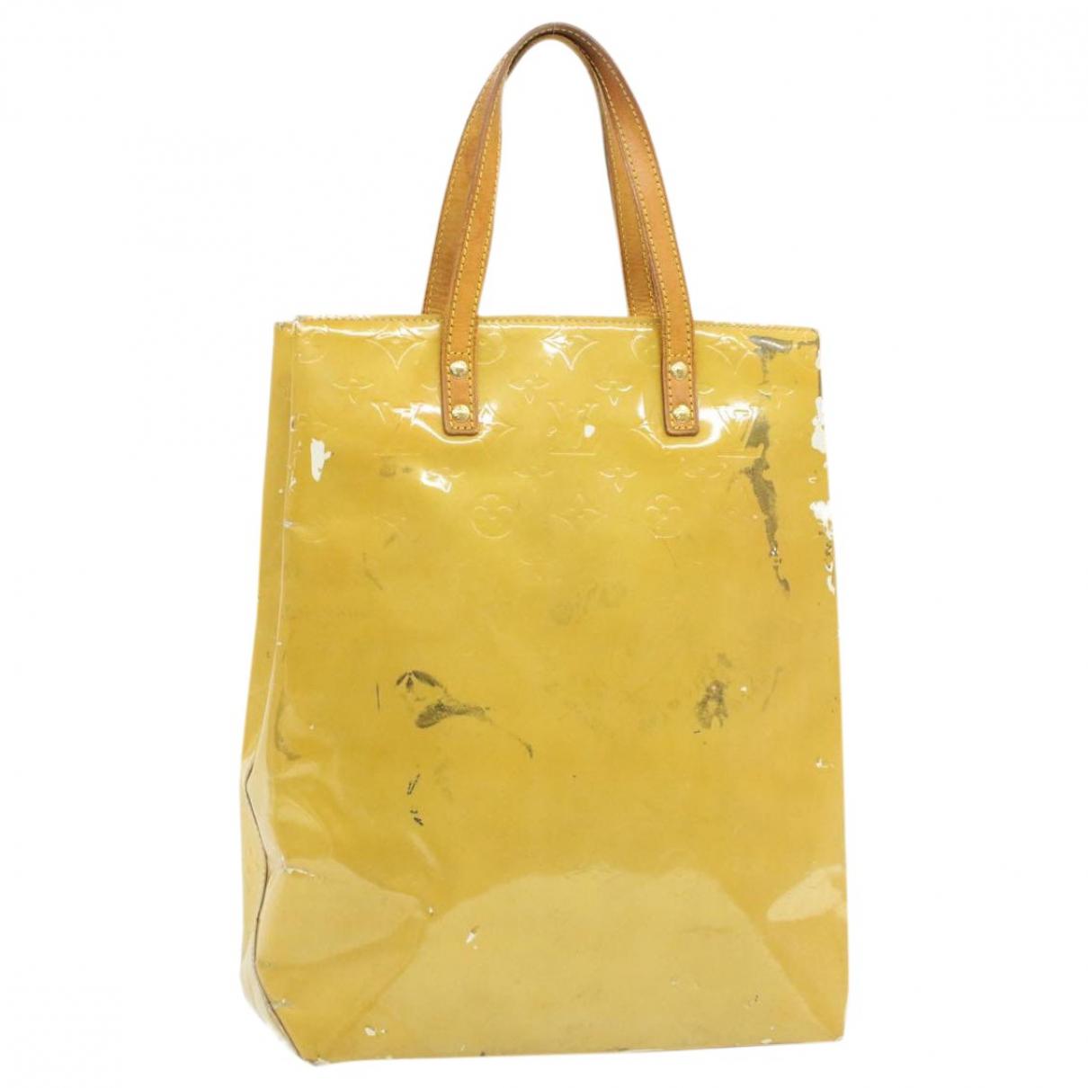 Louis Vuitton - Sac a main Reade pour femme en toile - beige