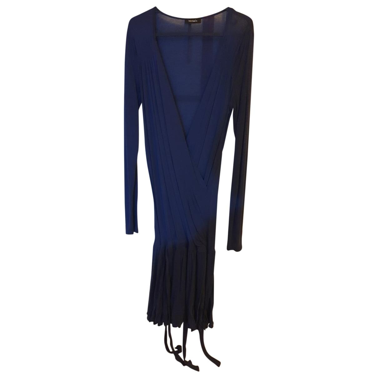 Max & Co N Blue Cotton dress for Women M International