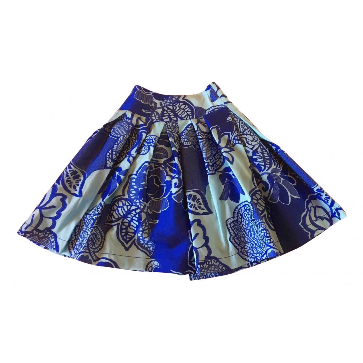 Maria Grazia Severi \N Rocke in  Blau Polyester