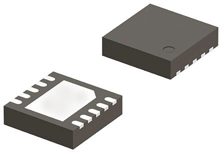 ON Semiconductor NCP383LMUAJAATXG, Dual USB Power Switch, High Side, 95Ω, 2.7 V min. 10-Pin, UDFN (10)