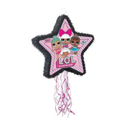 L.O.L.Surprise 1 Shaped Drum Pull Piñata For Birthday Party