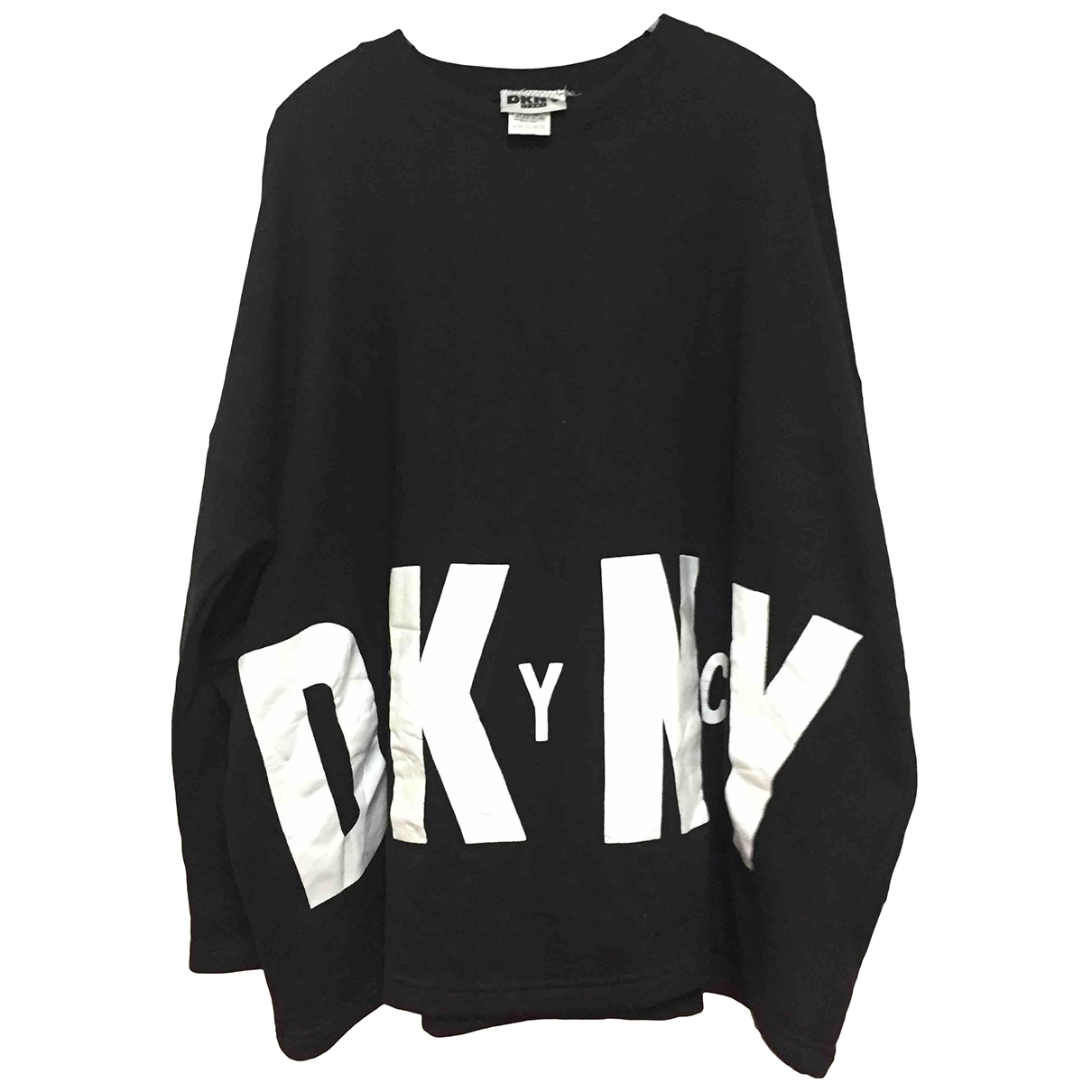 Dkny \N Pullover.Westen.Sweatshirts  in  Schwarz Baumwolle