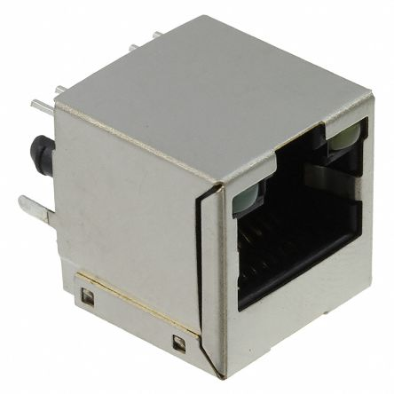 TE Connectivity , 1734577, Female Cat3 RJ45 Socket