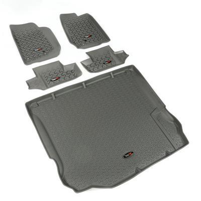 Rugged Ridge All Terrain Floor Liner Kit (Gray) - 14988.03