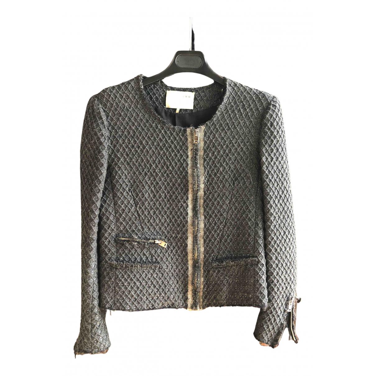 Iro N Black Wool jacket for Women 1 US