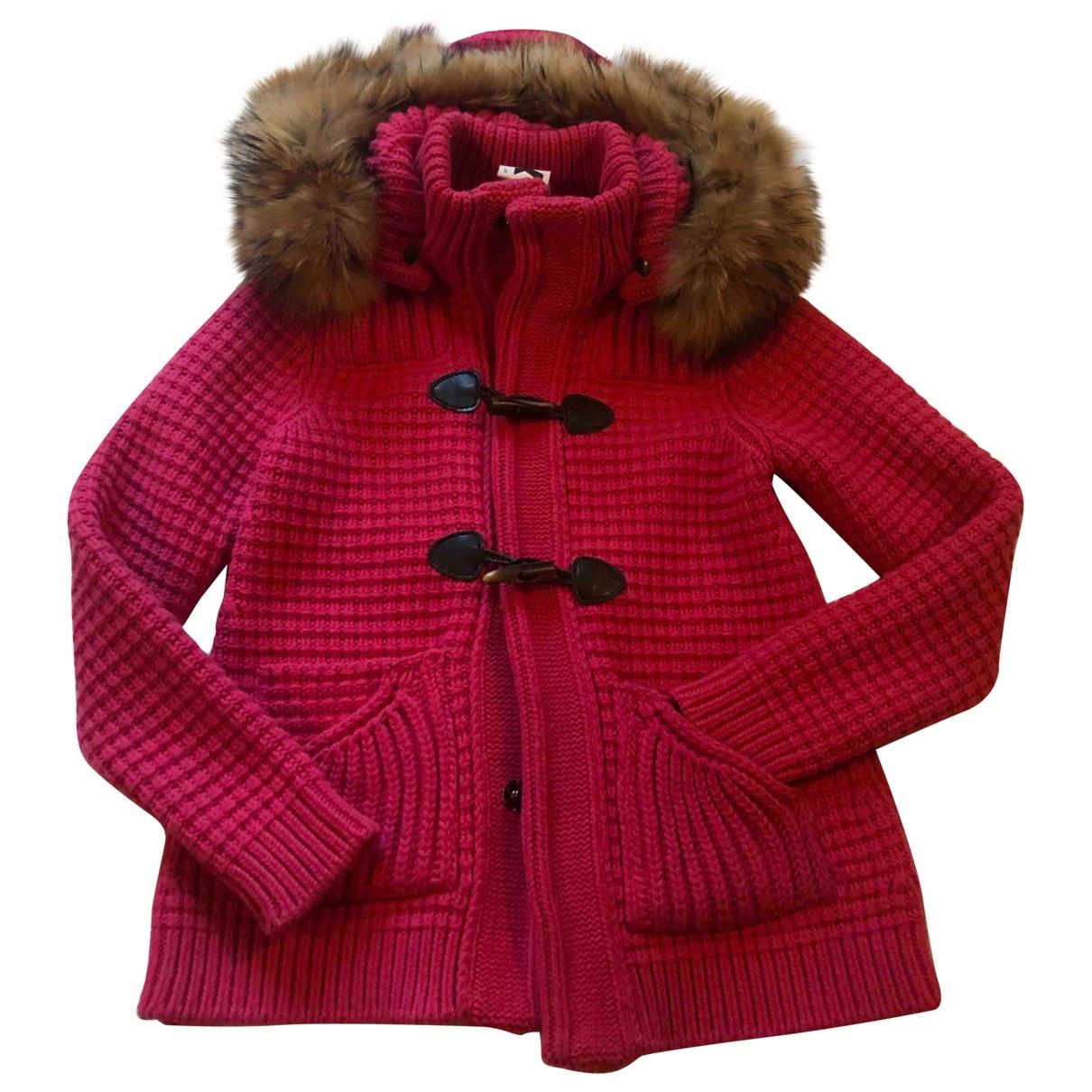 Bark - Manteau   pour femme en laine - rose