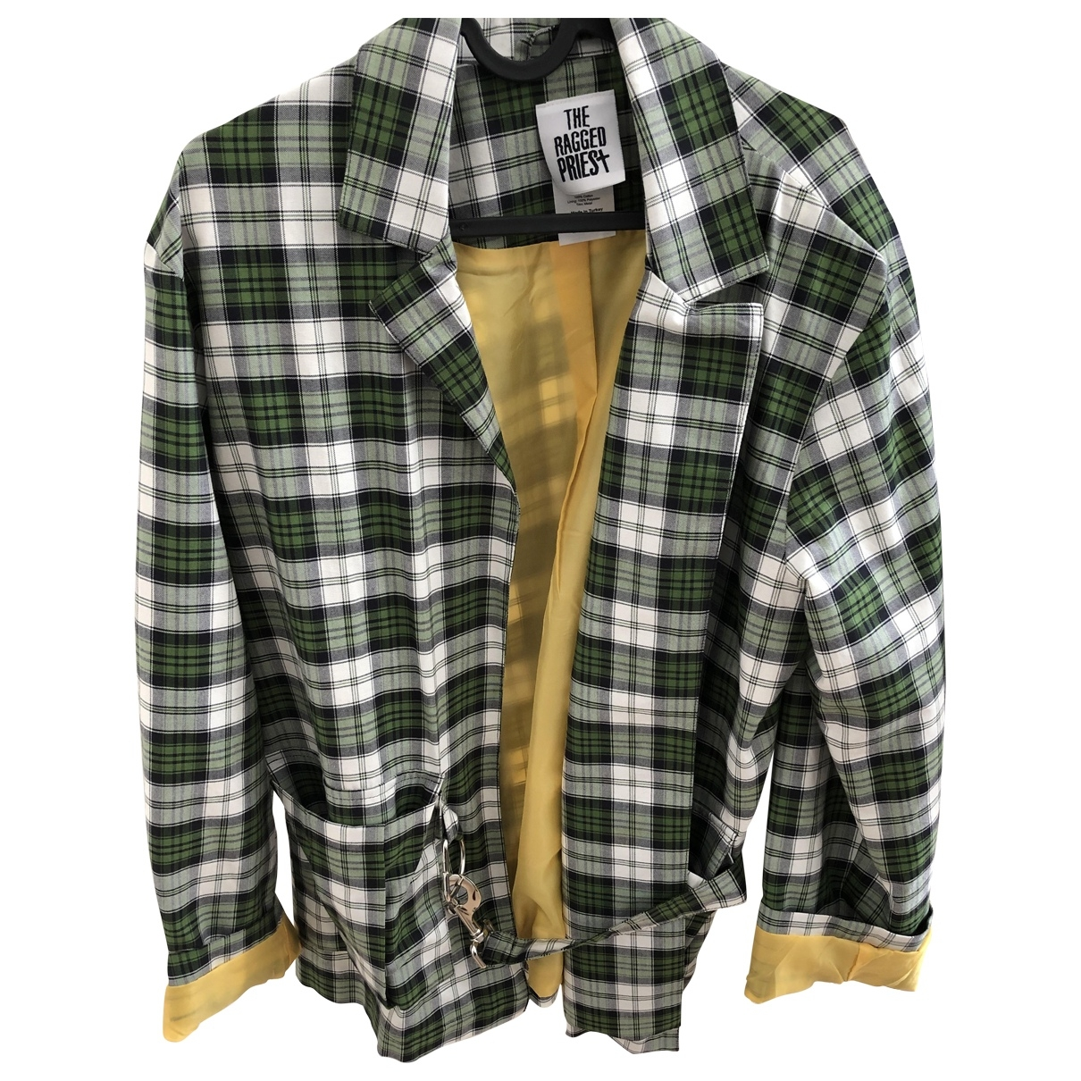 The Ragged Priest \N Green Cotton jacket for Women XS International