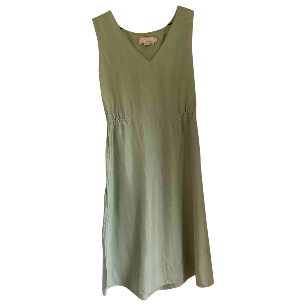 Dkny \N Kleid in  Blau Seide