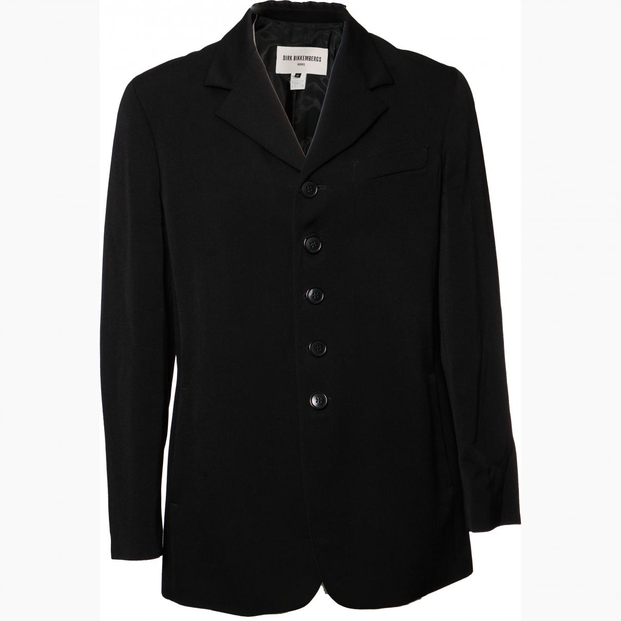 Dirk Bikkembergs \N Black Wool jacket  for Men 52 IT