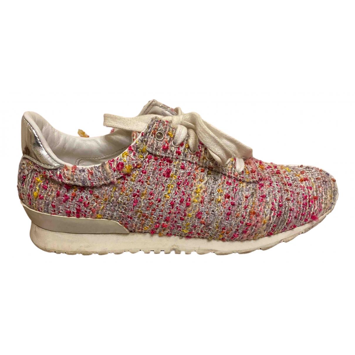 Casadei \N Sneakers in  Rosa Tweed