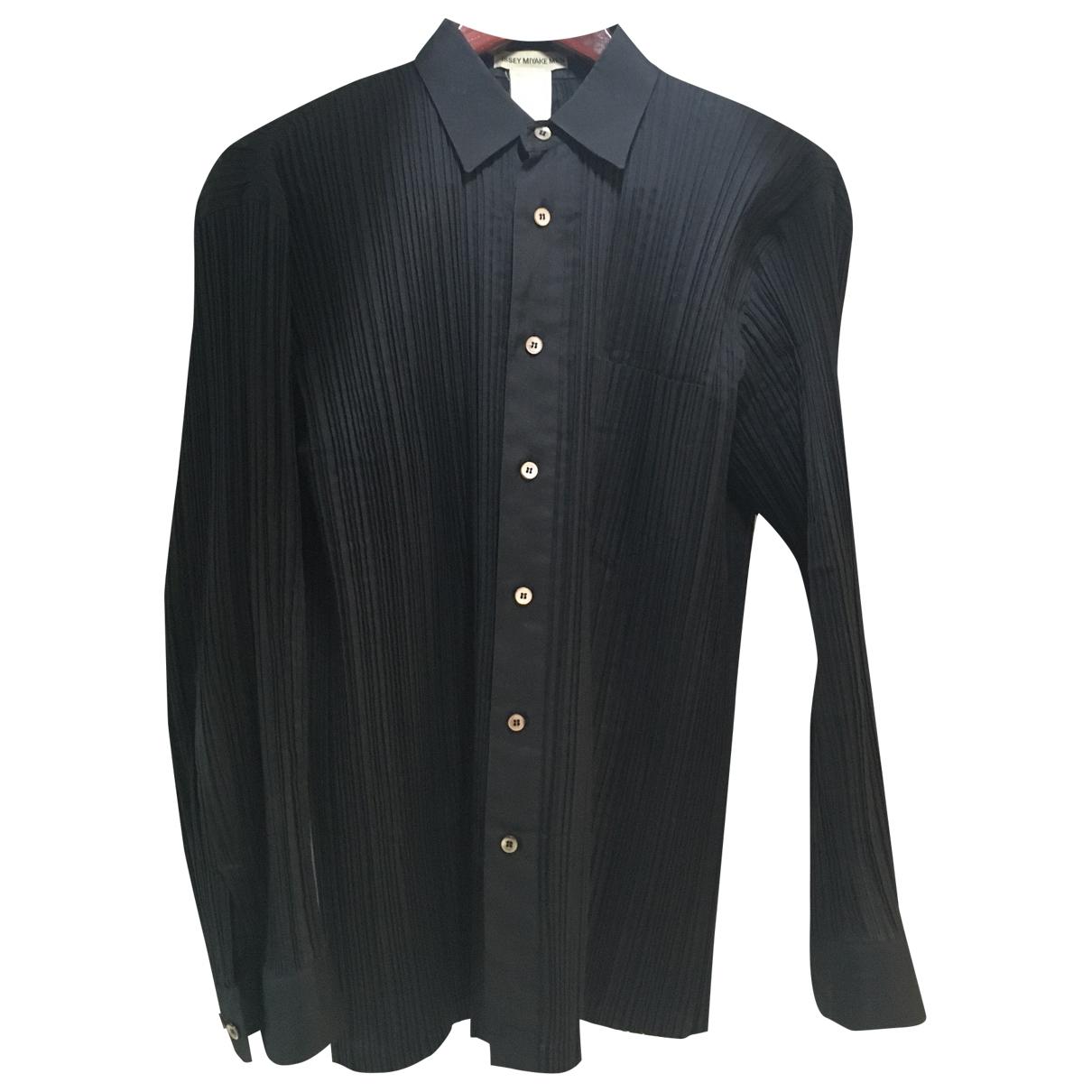 Issey Miyake - Chemises   pour homme en autre - noir