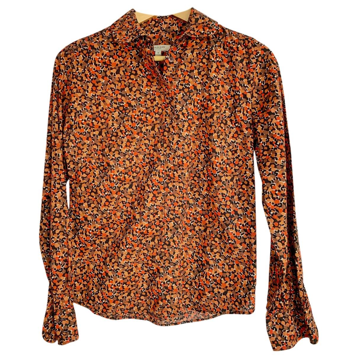 Burberry N Orange Cotton  top for Women S International