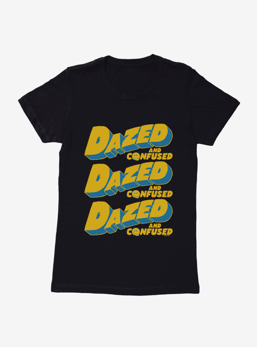 Dazed And Confused 3D Cartoon Womens T-Shirt