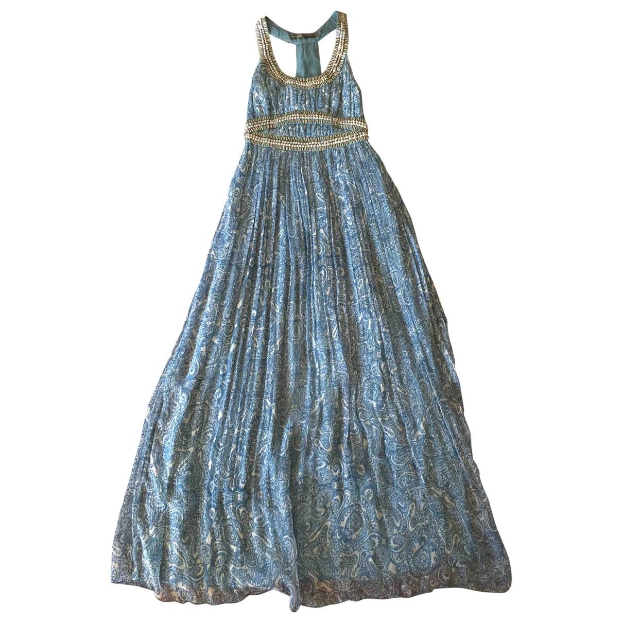 Blank \N Kleid in Seide