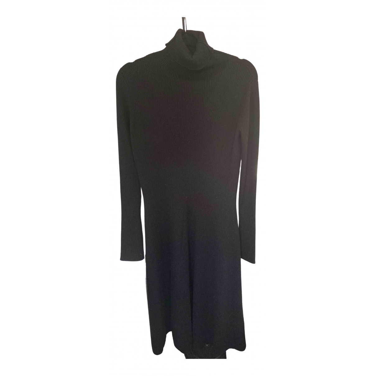 Non Signé / Unsigned \N Black Wool dress for Women L International