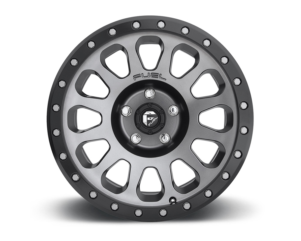 Fuel D601 Vector Anthracite 1-Piece Cast Wheel 18x9 5x150 01mm