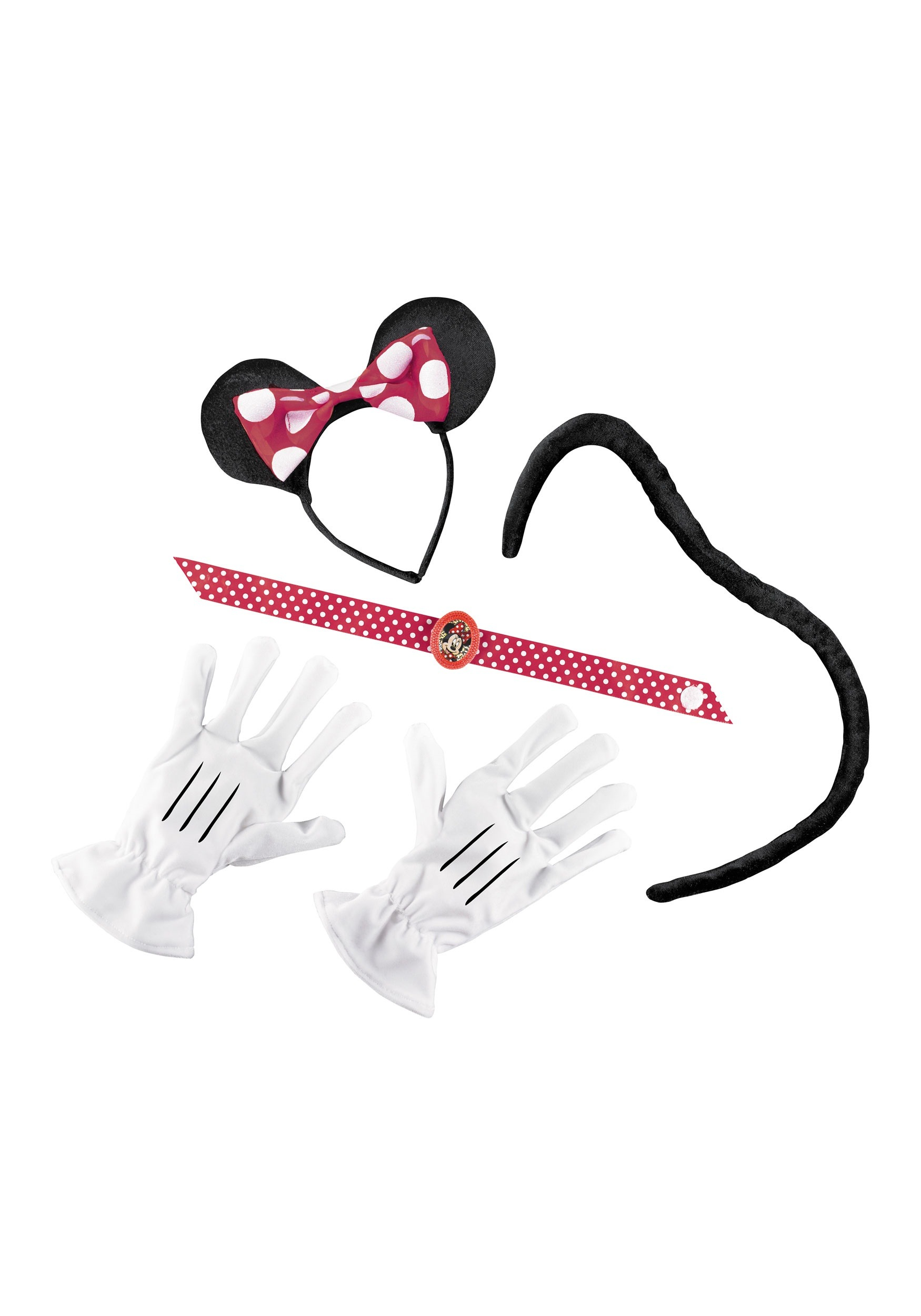 Red Minnie Mouse Accessories Kit for Women