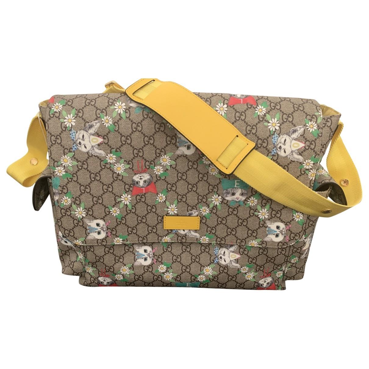 Gucci \N Taschen in  Beige Baumwolle