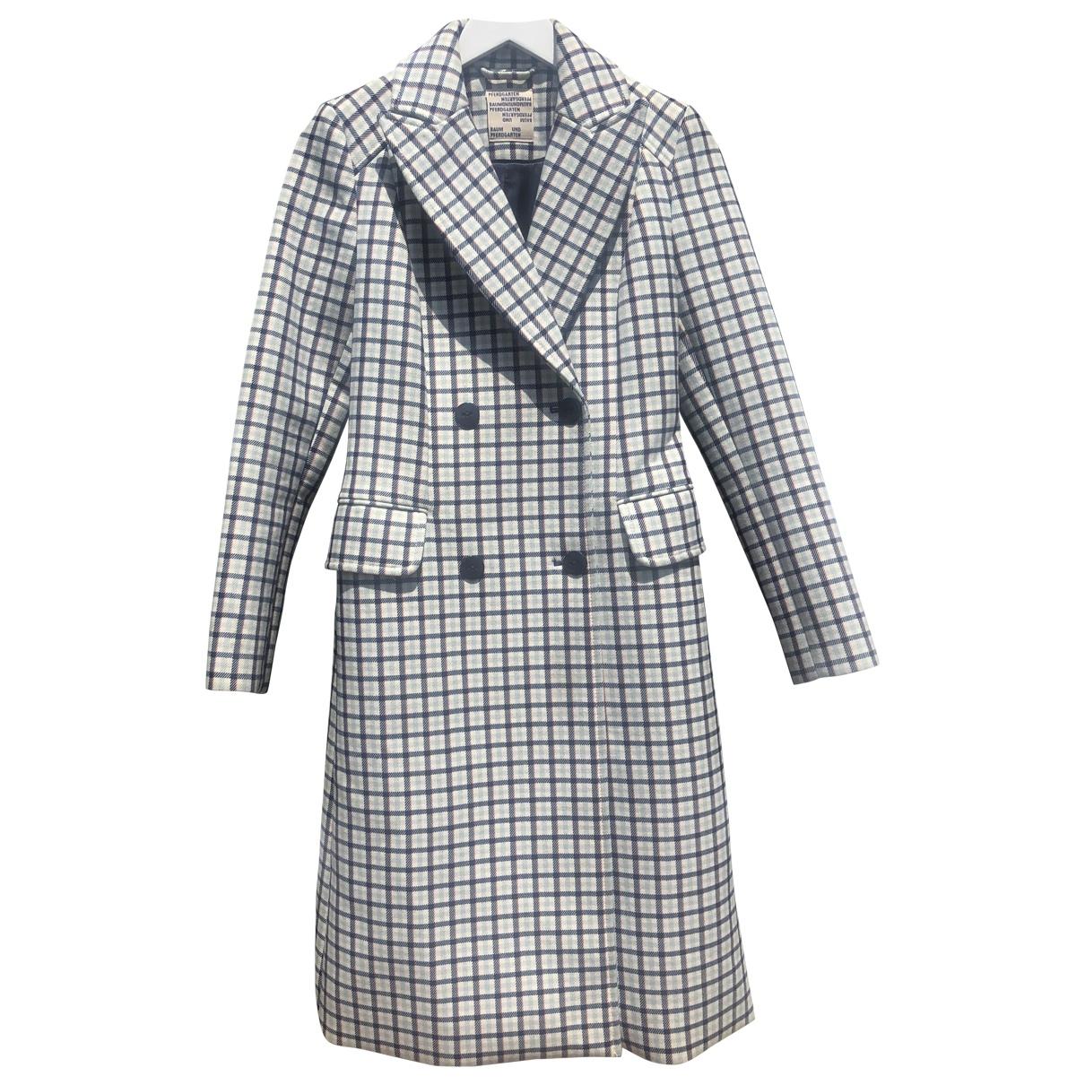 Baum Und Pferdgarten - Manteau   pour femme - blanc
