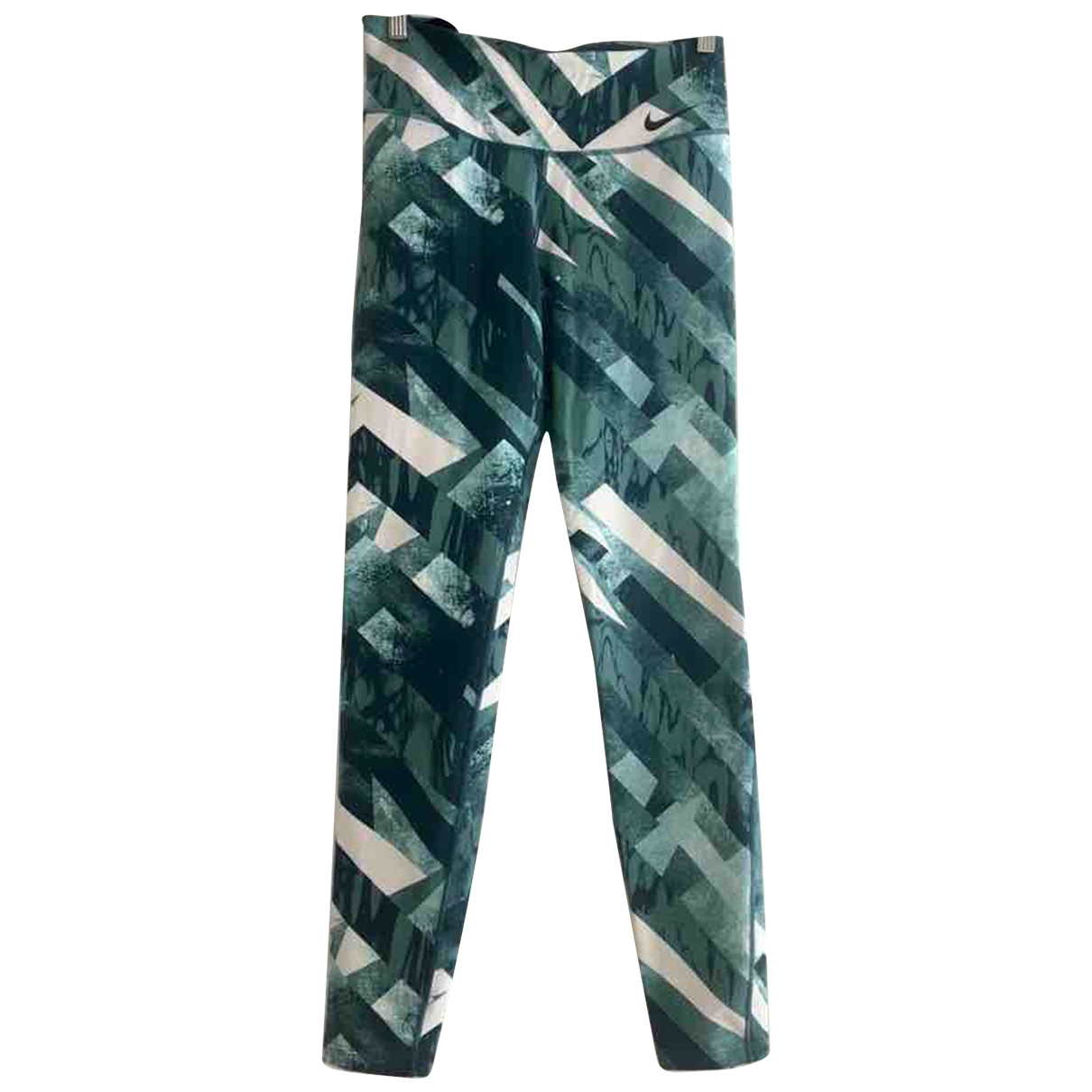 Nike \N Turquoise Trousers for Women M International