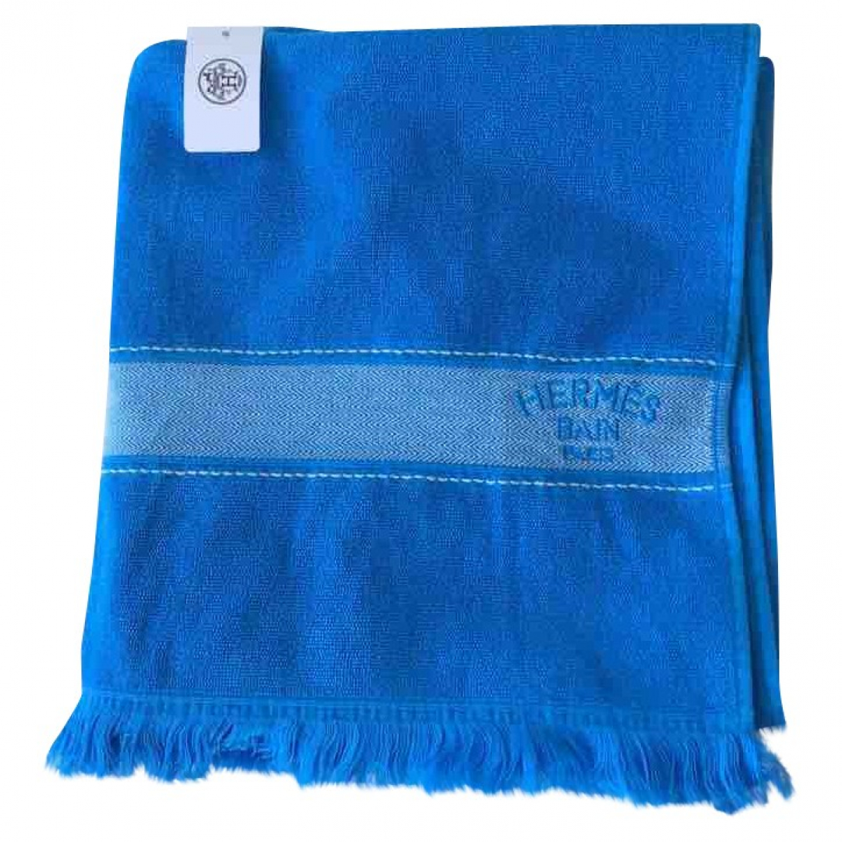 Hermès \N Blue Cotton Textiles for Life & Living \N