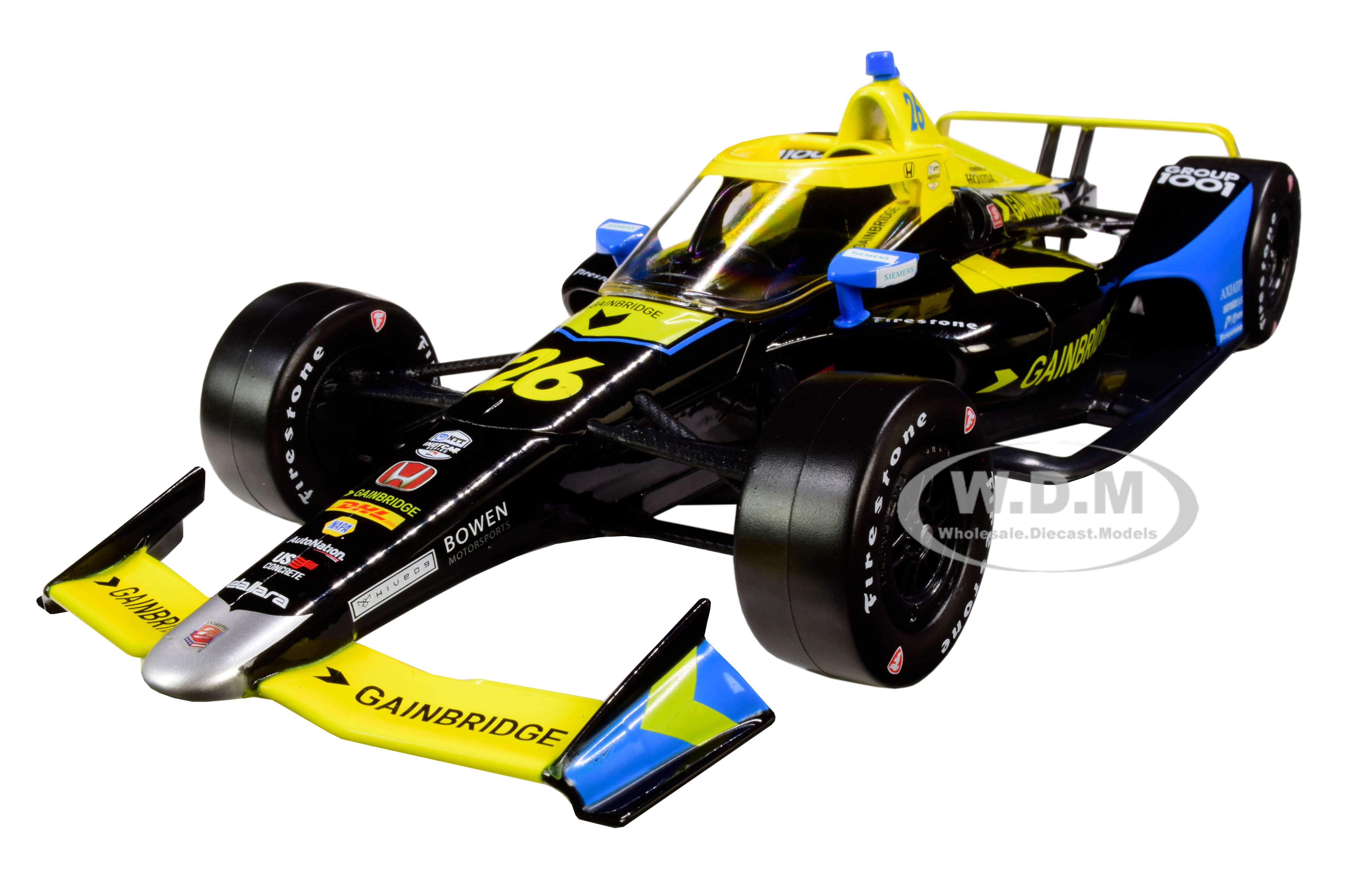 Dallara Indy Car 26 Zach Veach