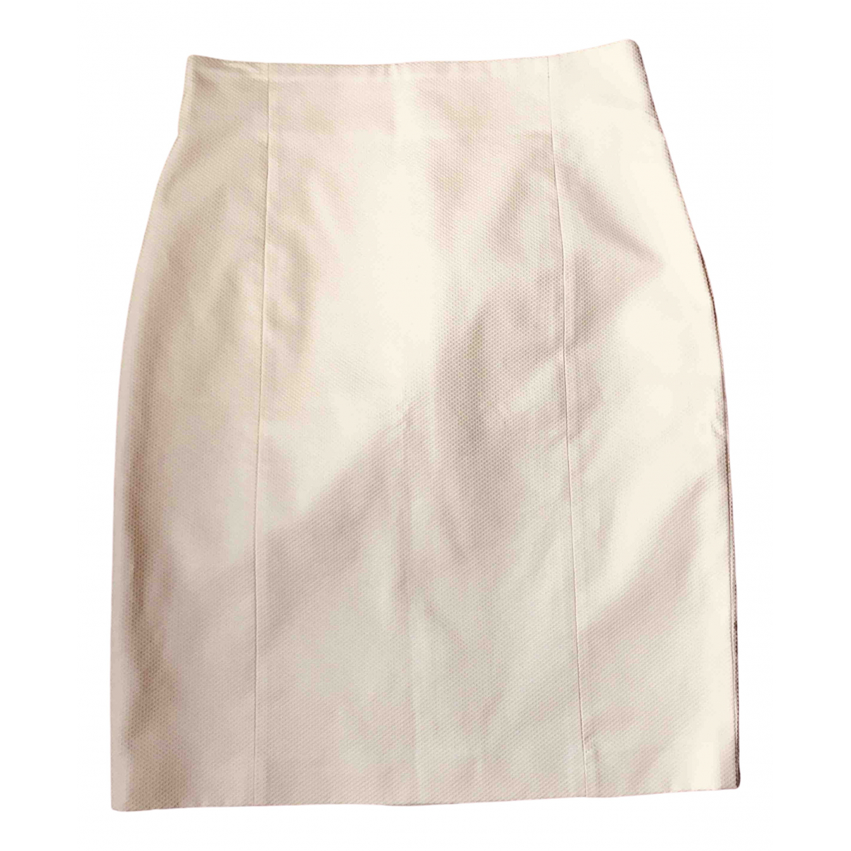 Agnona - Jupe   pour femme en coton - jaune