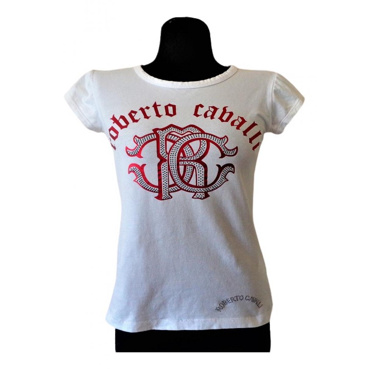 Roberto Cavalli \N White Cotton  top for Women 40 IT
