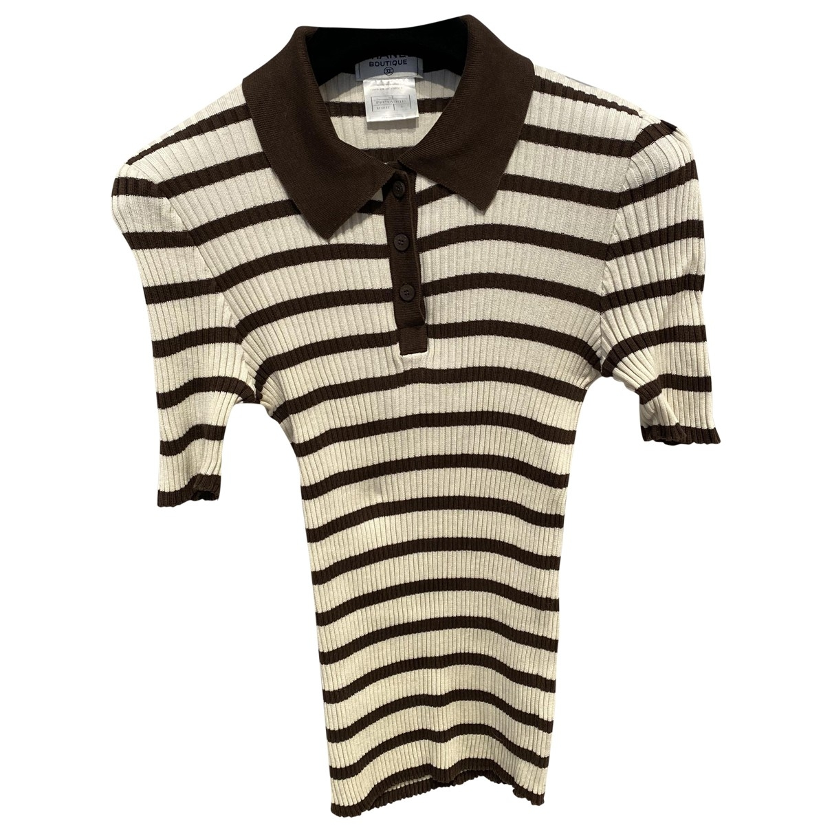 Chanel \N Brown Cotton  top for Women 46 FR