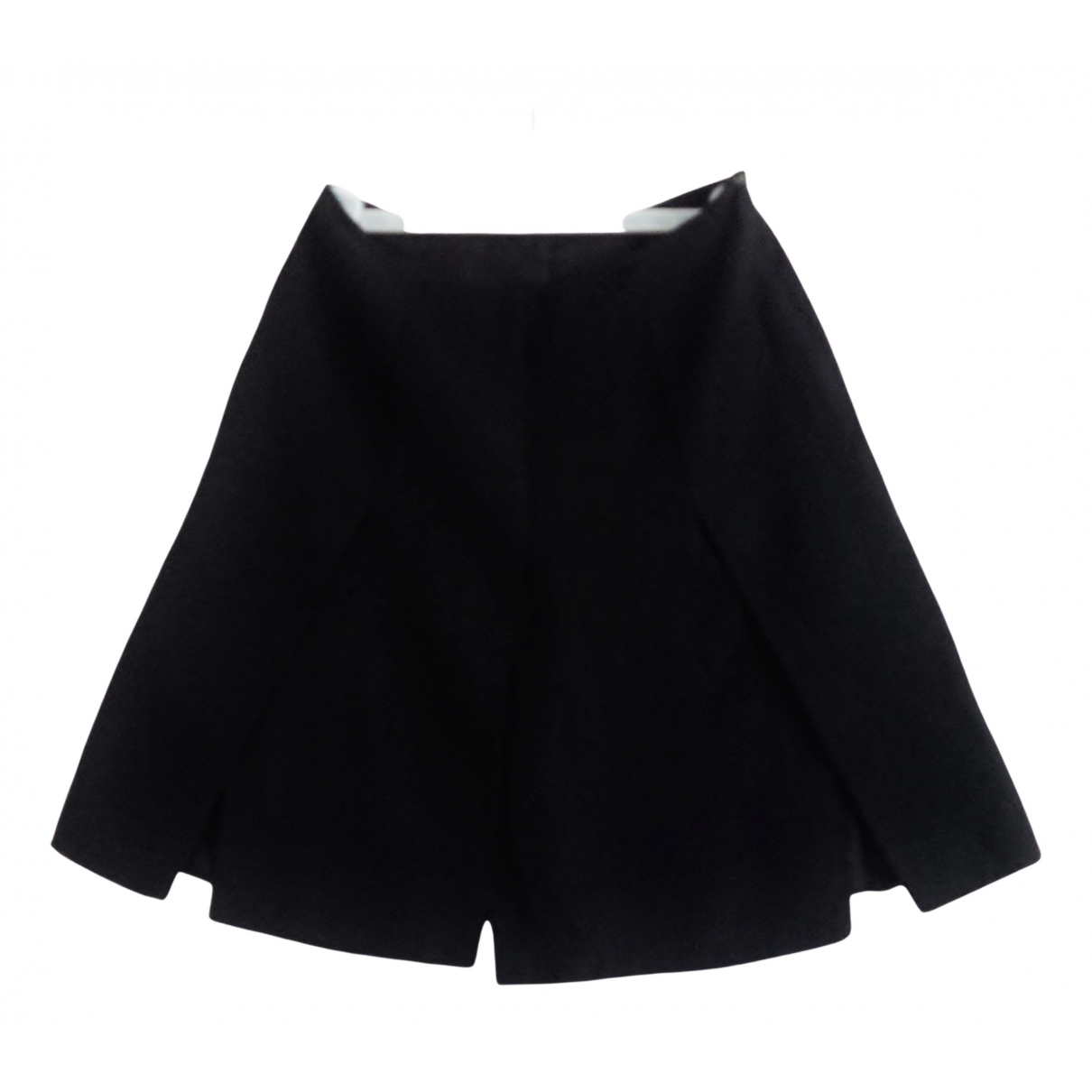 Non Signé / Unsigned N Black Wool skirt for Women S International