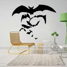 Halloween Wandaufkleber mit Schlaeger Muster