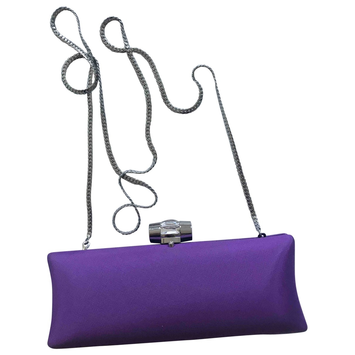 Philosophy Di Alberta Ferretti \N Purple Silk Clutch bag for Women \N