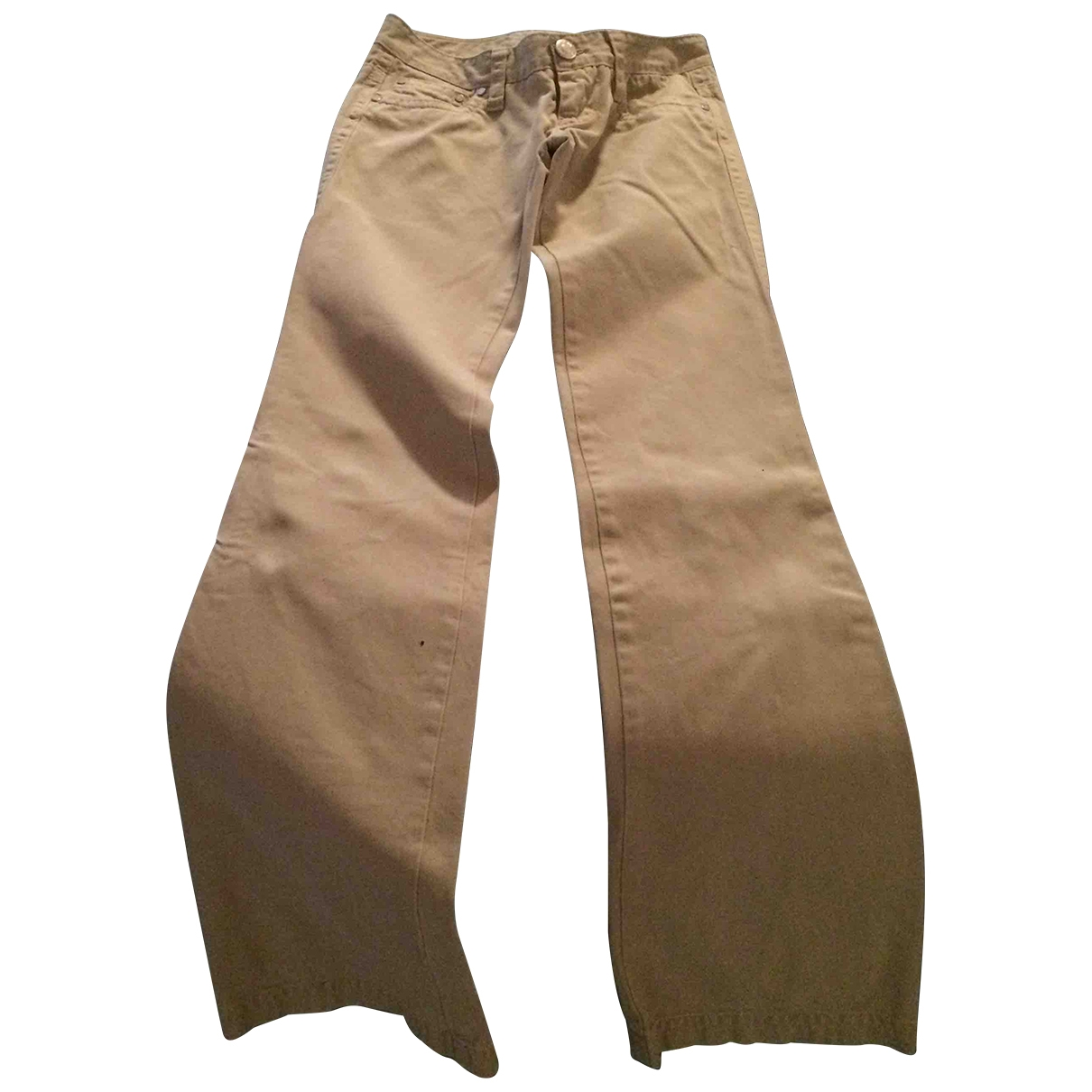 Dsquared2 \N Cotton Trousers for Women 38 IT