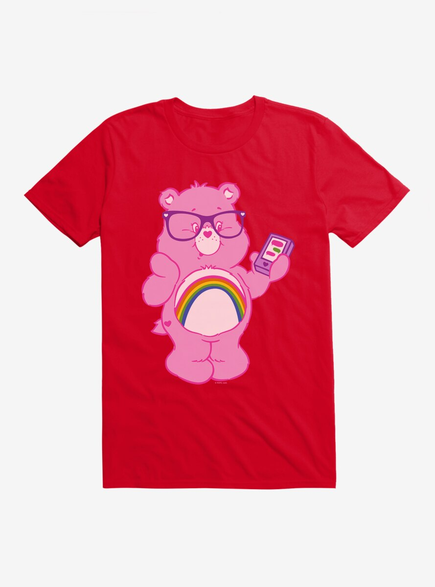 Care Bears Cheer Bear Texting T-Shirt