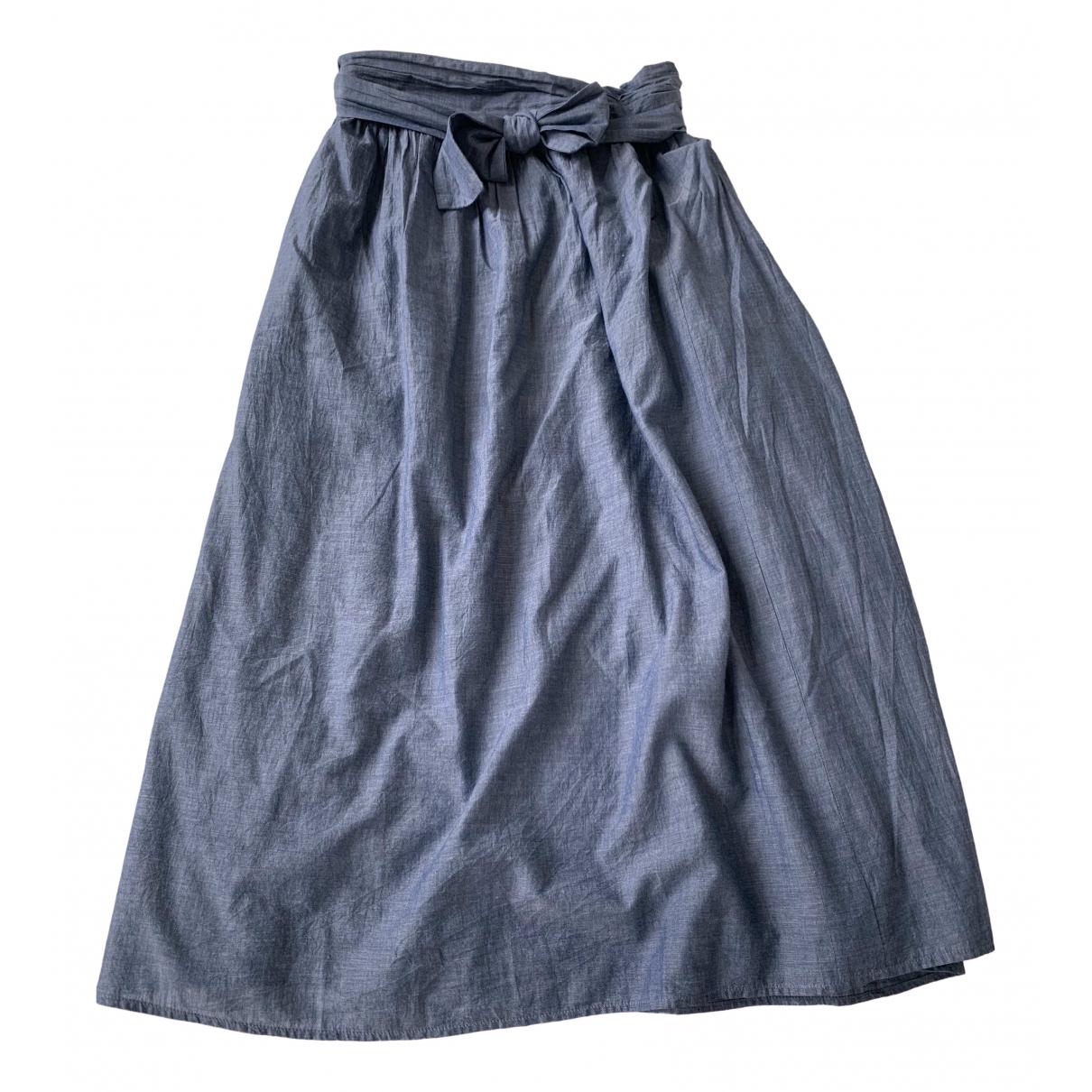 Apiece Apart \N Blue Cotton dress for Women 1 US
