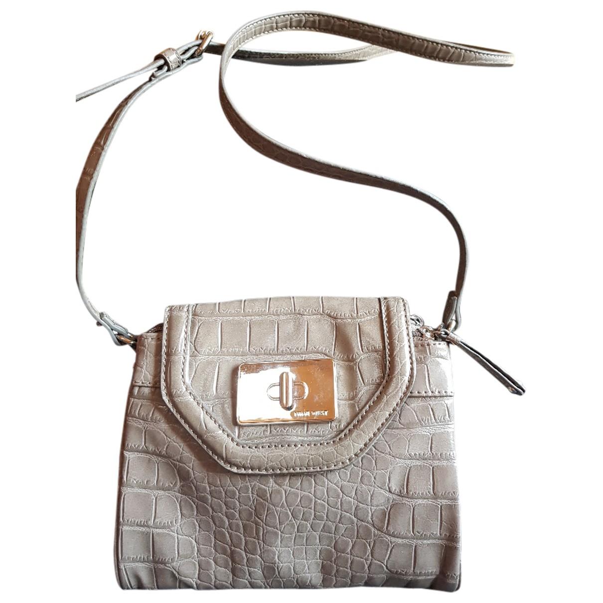 Nine West \N Beige Faux fur handbag for Women \N