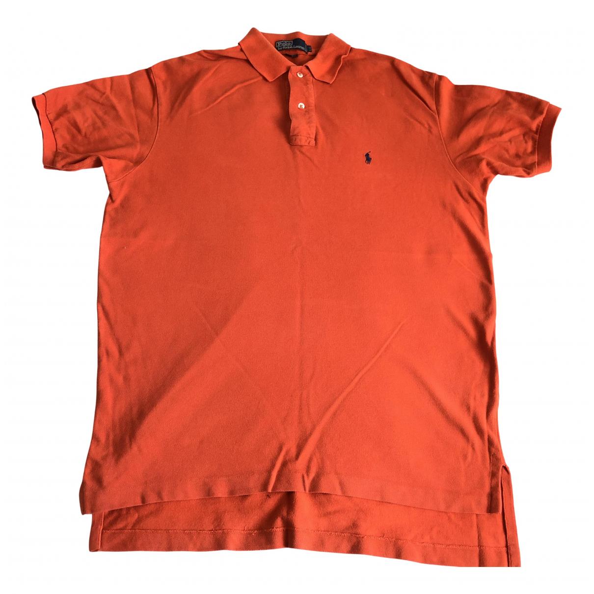 Polo Ralph Lauren - Polos Polo ajuste manches courtes pour homme en coton - orange