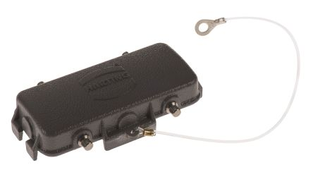 HARTING Han B Series Protective Cover,16P+E, For Use With Hoods and housings for RS ranges 5 to 8, Han 16B