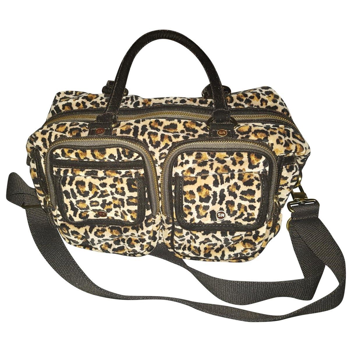 Sonia Rykiel \N Multicolour Velvet handbag for Women \N