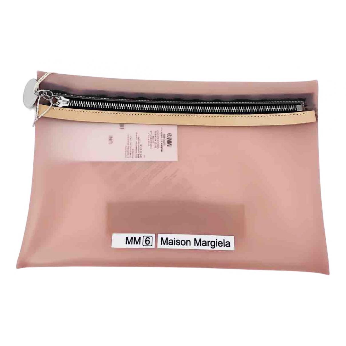 Bolsos clutch en Plastico Rosa Mm6