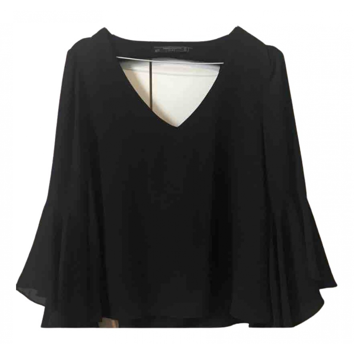 Zara \N Top in  Schwarz Synthetik