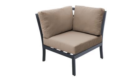 TKC067b-CS-WHEAT Corner Chair - Ash and Wheat