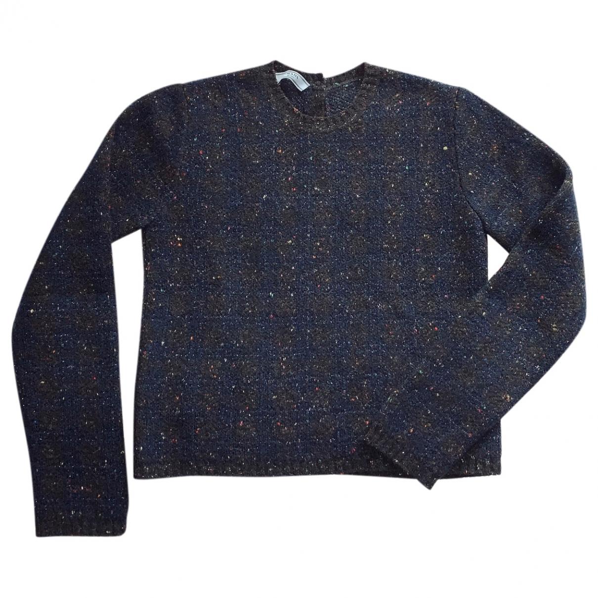 Prada \N Pullover in  Marine Wolle