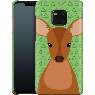 Huawei Mate 20 Pro Smartphone Huelle - Deer on Green von caseable Designs