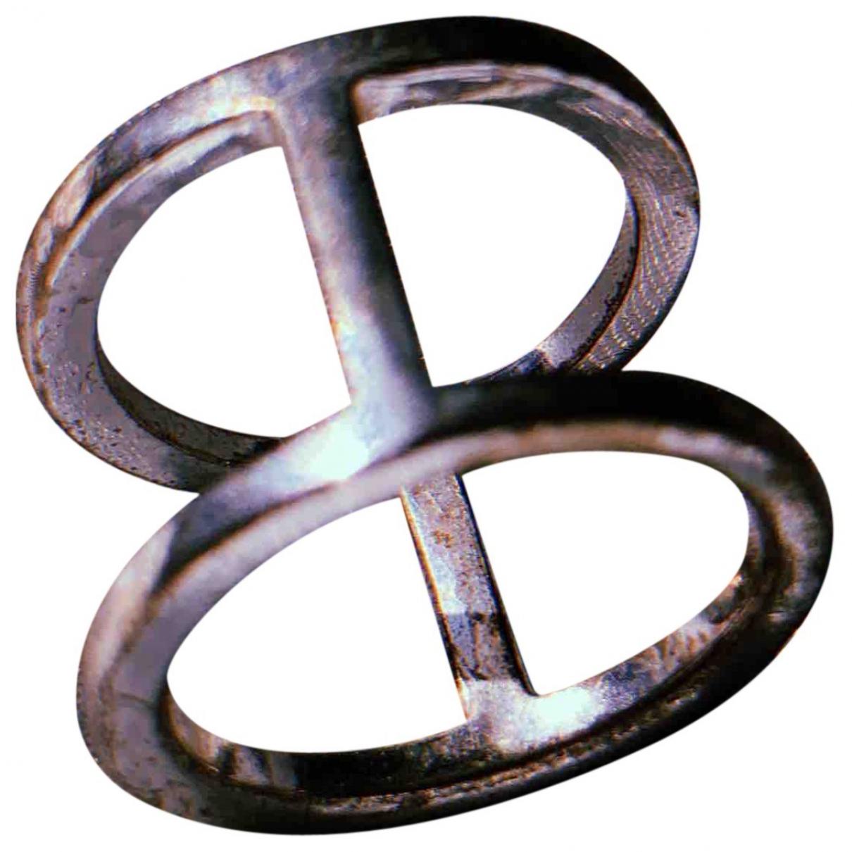 Mm6 \N Ring in  Silber Versilbert