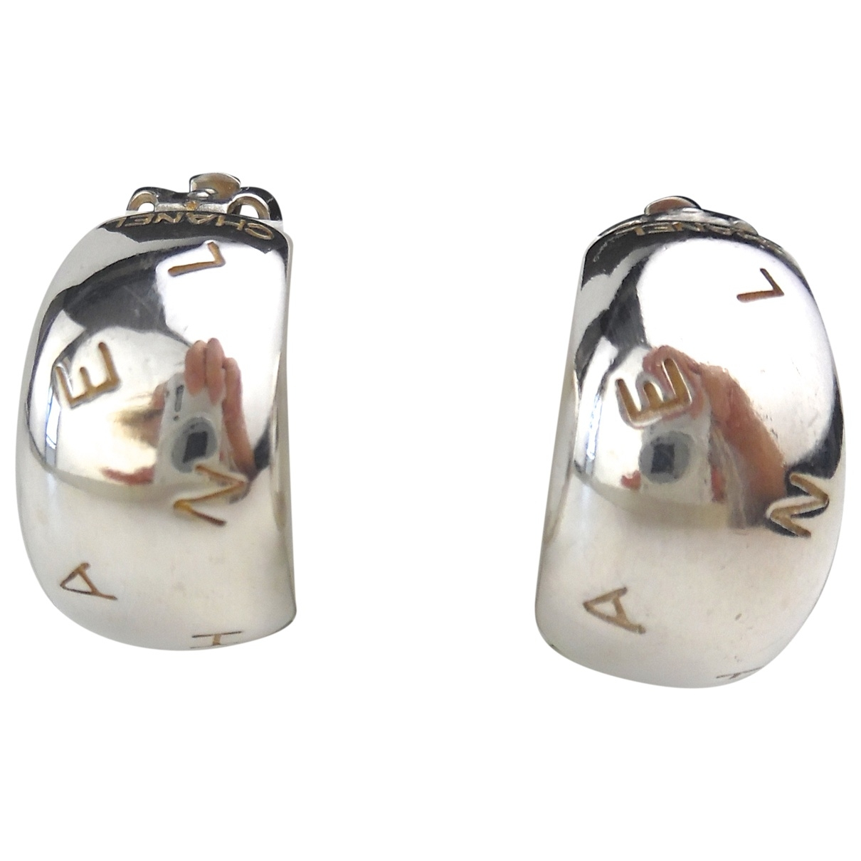 Chanel \N Silver Silver Earrings for Women \N